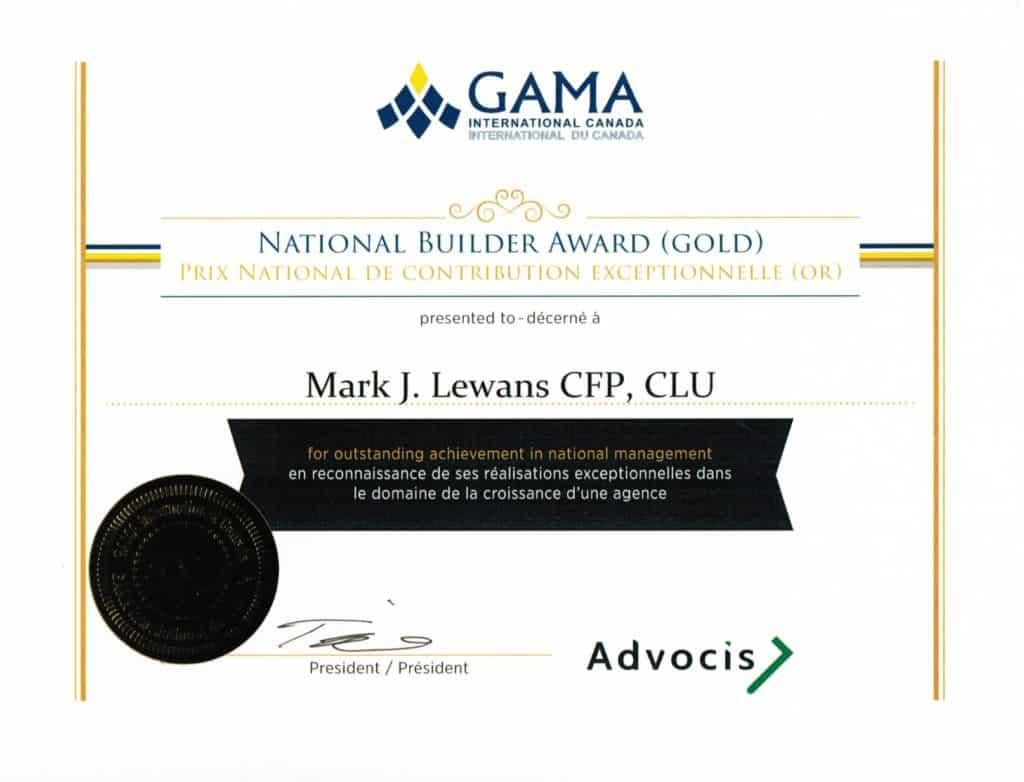 National Builder Award